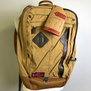 Browning Heritage Taos Waxed Backpack Laptop NWT